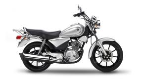 Yamaha YBR125 Custom Light-Grey-Metallic