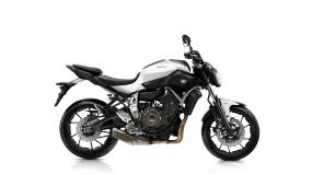 Yamaha MT-07 Competition White