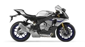 Yamaha YZF-R1M Silver Blu Carbon