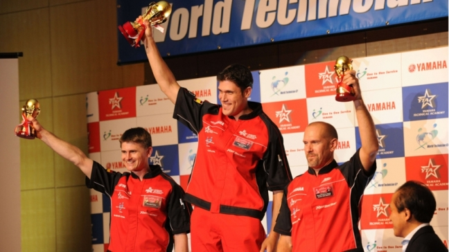 Tomás Candela - Campeón Yamaha World Technician GP 2014