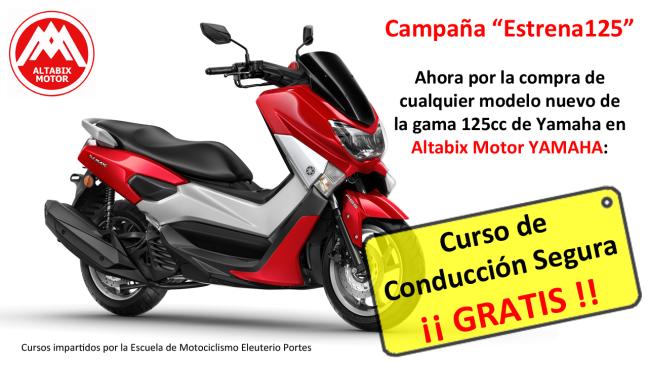 Campaña Estrena125